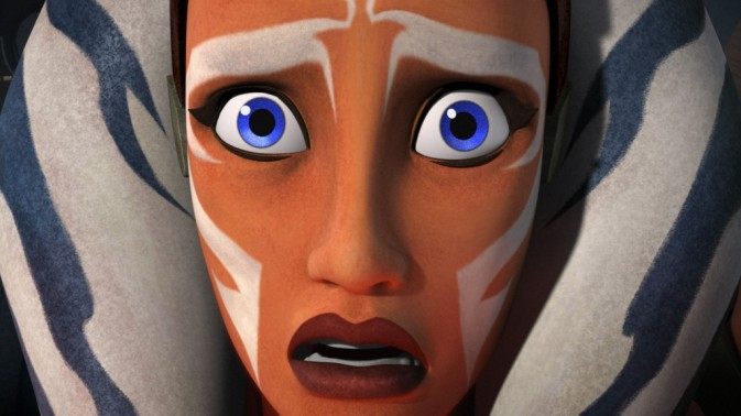 Ahsoka in a state of shock. Image courtesy of Agents of Geek.