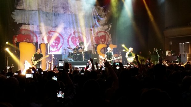 Rise Against at the Masonic. Photo by me.